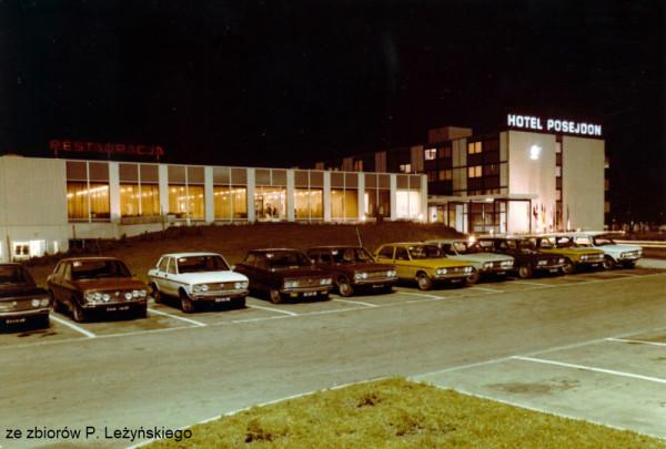 Hotel Posejdon w Jelitkowie około 1978 r.