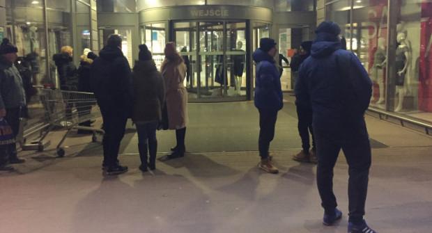 Klienci galerii zostali ewakuowani, a sama Galeria Przymorze zamknięta.