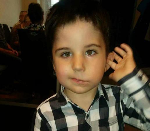 Kuba Zieliński to czterolatek, który urodził się bezwładnymi mięśniami twarzy.