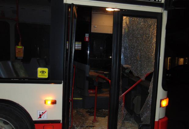 Groził Kierowcy I Wybił Szyby W Autobusie