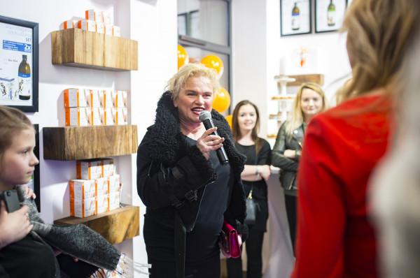 Gościem specjalnym była Katarzyna Figura, która budziła duże zainteresowanie wśród gości.