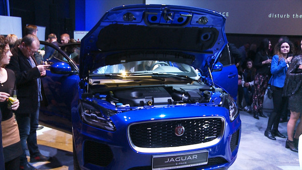 Kompaktowy SUV Jaguara - model E-Pace.
