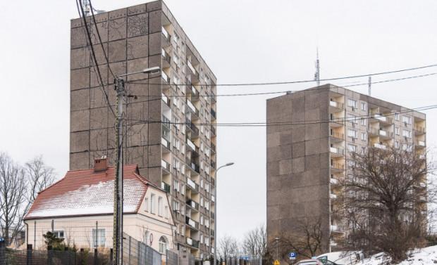Niewykluczone, że w najbliższych latach krajobraz na Grabówku zmieni się po zabudowie deweloperów. Na zdjęciu Dom Studencki nr 4.