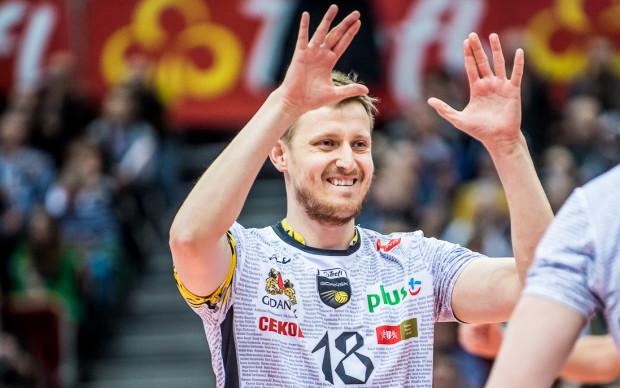 Michał Kozłowski od trzeciego seta świetnie pokierował rozegraniem Trefla.