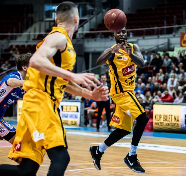 Obie Trotter przesądził o zwycięstwie koszykarzy Trefla Sopot w Zgorzelcu.