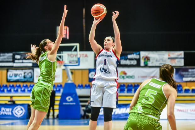 Victoria Jankoska była w Łodzi w świetnej dyspozycji w rzutach zza linii 6,75 metra.