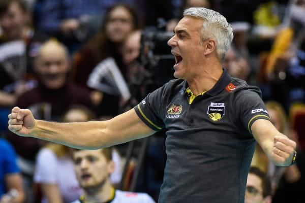 Andrea Anastasi, trener siatkarzy Trefla Gdańsk, otrzymał tytuł Ligowca Lutego 2017.