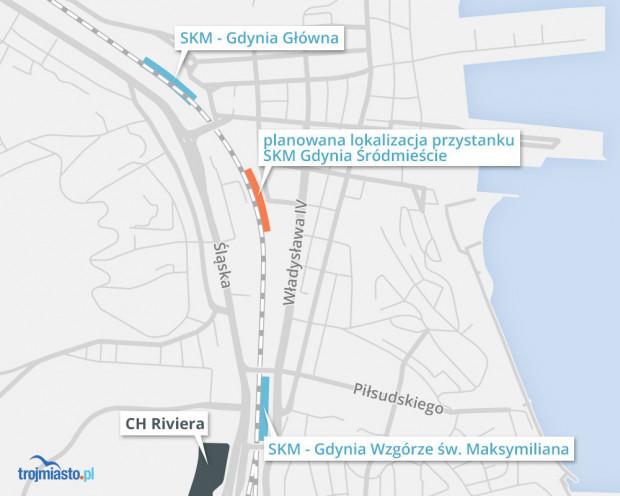 Przymiarki Do Budowy Dwoch Nowych Przystankow Skm W Gdyni