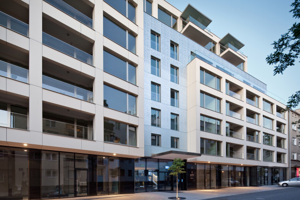 Najciekawsza inwestycja mieszkaniowa Trójmiasta w 2016 roku: kamienica Silver House przy ul. Zygmunta Augusta w Gdyni.