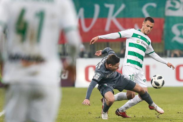 Proste błędy linii obrony, w której grał m.in. Joao Nunes najbardziej rozzłościły trenera Lechii Gdańsk Piotra Stokowca.