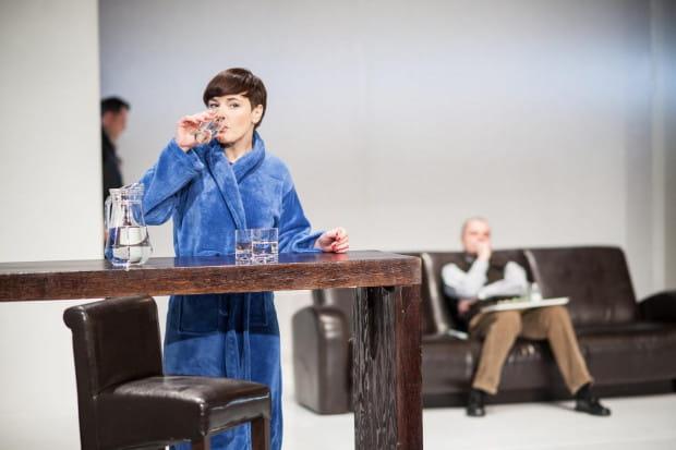 """""""Intymne lęki"""" to pierwszy spektakl Adama Orzechowskiego w Teatrze Wybrzeże po objęciu tego teatru w 2006 roku. Co ciekawe, przedstawienie grane jest do dzisiaj."""