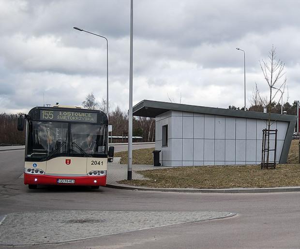 Autobus linii 155 kursuje między pętlą Łostowice-Świętokrzyska a Jasieniem PKM.