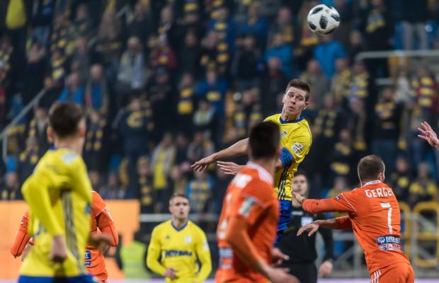 Michał Marcjanik od dwóch meczów jest kapitanem Arki Gdynia.