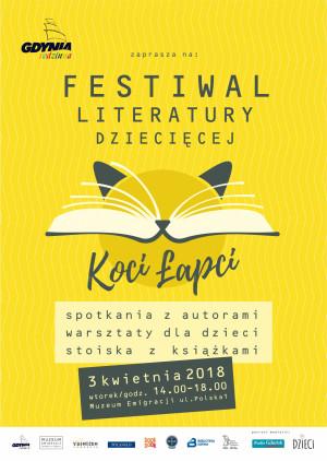 """I Festiwal Literatury Dziecięcej """"Koci Łapci"""" Gdynia Rodzinna."""