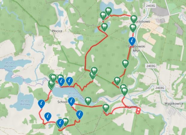 Kliknij na mapę i zobacz naszą trasę