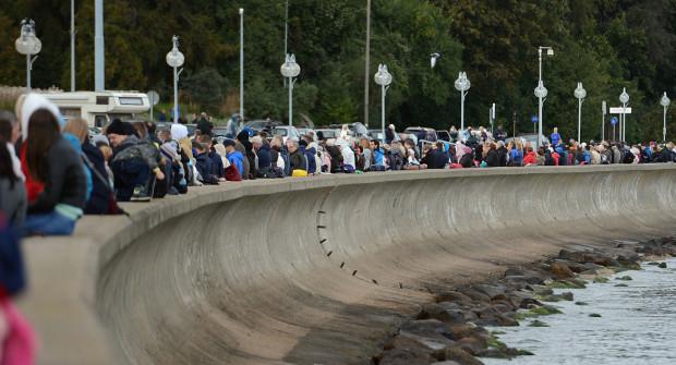 Baner zostanie zawieszony na bulwarze Nadmorskim w Gdyni na kilkadziesiąt godzin.