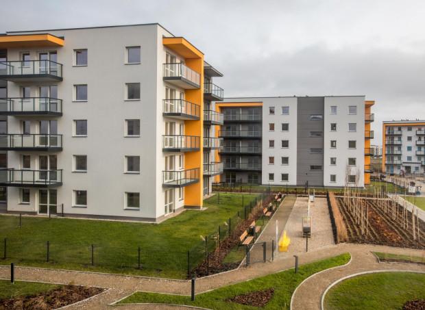 Na osiedlu Optima powstają nie tylko budynki mieszkalne, ale także pawilon handlowo-usługowy i teren rekreacyjny.