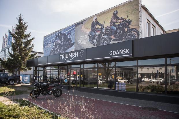 Nowy salon Triumpha w Gdańsku.