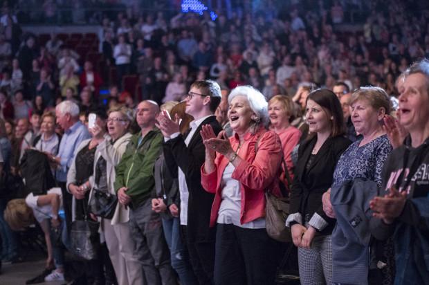 Na widowni zasiadło ok. 10 tys. słuchaczy.