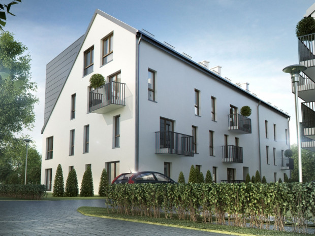 Przy Starochwaszczyńskiej powstają budynki wielorodzinne o ciekawej architekturze, okolica w najbliższych latach będzie się rozwijała.