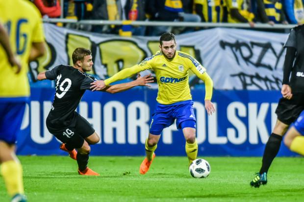 Luka Zarandia zawsze dobrze spisuje się w meczach Pucharu Polski. Dlatego też przydałby się trenerowi Leszkowi Ojrzyńskiemu w środowym finale.