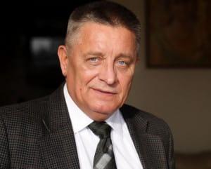 ...prof. Andrzejem Ceynową, kandydatem SLD na prezydenta Gdańska.