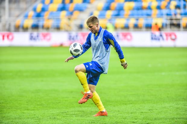 Jan Łoś jest drugim najmłodszym piłkarzem, który w Arce Gdynia zagrał w ekstraklasie.