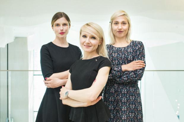 Zespół NordHR: Beata Stramska, Iwona Wawrzyniak (z lewej) oraz Sylwia Skiba.