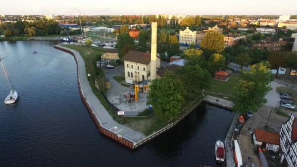 Przepompownia na Ołowiance została wybudowana w 1871 roku.