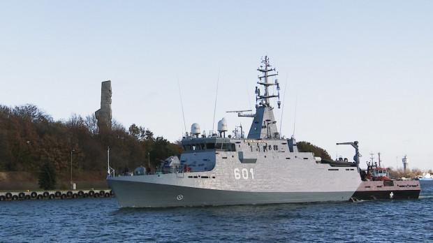 ORP Kormoran to jedyny nowoczesny okręt Polskiej Marynarki Wojennej.