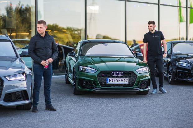 Każdy z gości miał okazję przejechać się wybranym modelem RS albo R8.