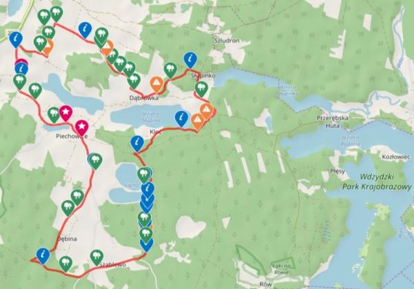 Prześledź przebieg szlaku / ściągnij ślad GPS