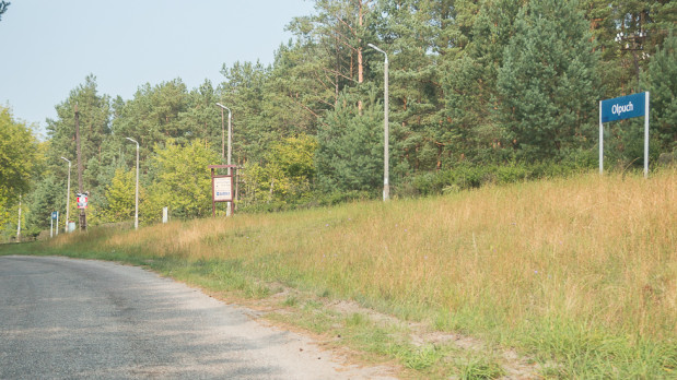 Przystanek w Olpuchu położony w bliskiej odległości do jezior: Gołuń, Kotel i Przywłocznego. Ostatni raz pociągi zatrzymywały się tutaj latem 2016 r. podczas przejazdu na trasie Rzeszów - Hel.