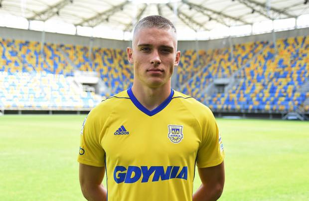 Oskar Repka związał się z Arką Gdynia do 30 czerwca 2020 roku z opcją przedłużenia na kolejny sezon.