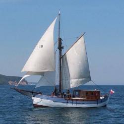 """""""Baltic Star"""" może zabrać na pokład 22 osoby."""