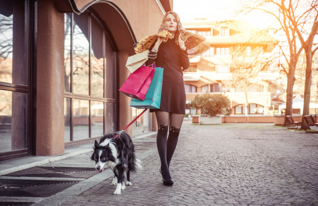 Zadbajmy o to, aby nasz zwierzak w galerii handlowej był cichy i nieuciążliwy dla innych klientów.