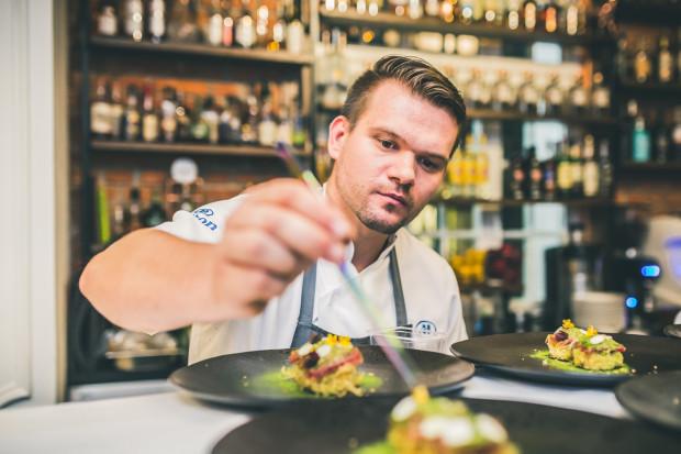 Paweł Stawicki, szef kuchni w restauracji Mercato.