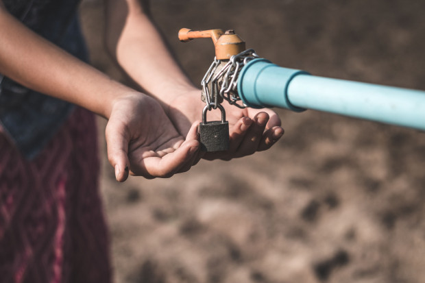 Braki wody w pierwszej kolejności wymuszają zakaz podlewania ogrodów i pól uprawnych, co dla mieszkańców domów jednorodzinnych pod miastem bywa frustrujące.