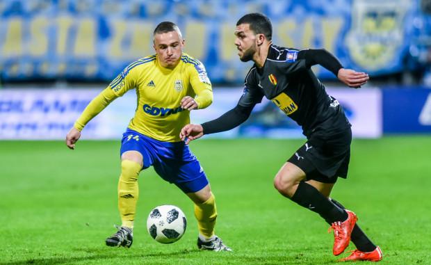 Nabil Aankour nie będzie już rywalizować na boisku z Michałem Nalepą. Obaj, od pierwszego meczu sezonu mogą znaleźć się razem w linii pomocy Arki Gdynia.