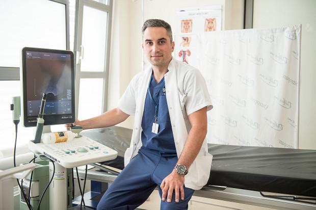 Dr Jakub Kłącz, urolog w Klinice Urologii UCK