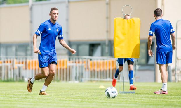 Adrian Klimczak wierzy, że po grze w III, II i I lidze teraz przyszedł czas na debiut w ekstraklasie.