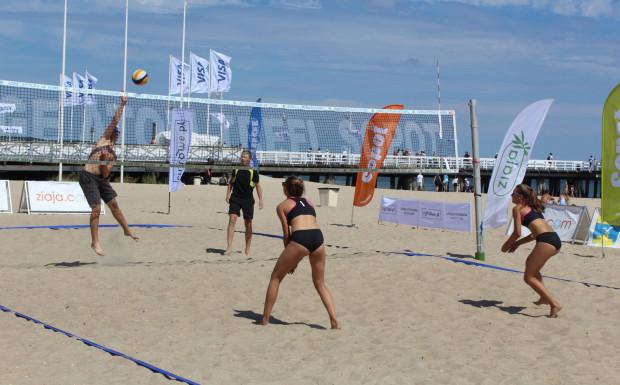 Na sopockiej plaży rywalizowano w dwóch kategoriach bez podziału na kobiety i mężczyzn.
