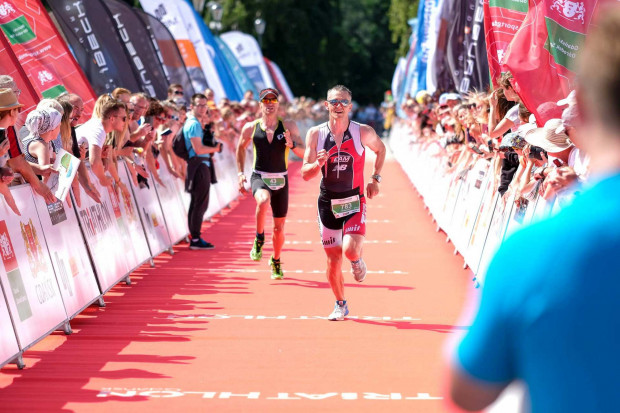 Meta Triathlonu Gdańsk zlokalizowana jest na molo w Brzeźnie.