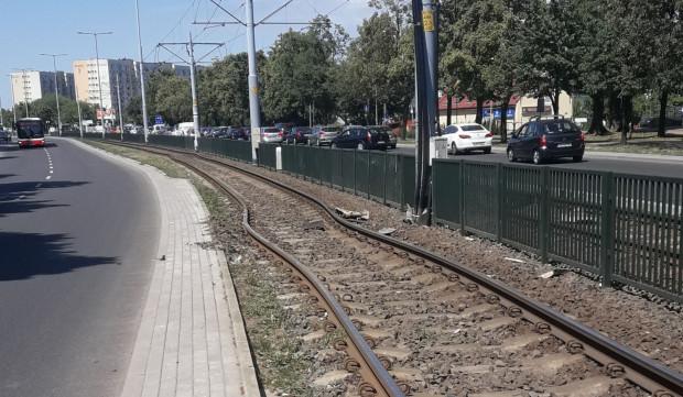 Wypaczone tory na ul. Chłopskiej. Przyczyna ostatniego poważnego wypadku tramwaju w Gdańsku.