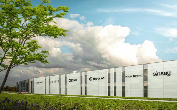 Centrum dystrybucyjne LPP wPruszczu Gdańskim powstało we wrześniu 2008 i stale jest rozbudowywane.