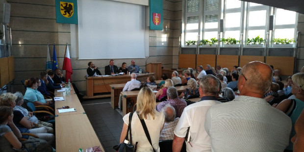 Na spotkaniu dotyczącym pyłu węglowego w Gdyni zabrakło nawet miejsc stojących.