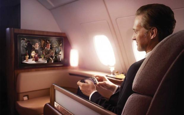 Linie lotnicze przyciągają zamożne osoby propozycją naprawdę luksusowych warunków podróży samolotem. Chętnych nie brakuje.