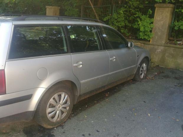 Skradzione i porzucone auto stało we Wrzeszczu przez prawie 3 lata.