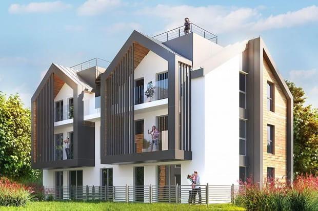 Osiedle Młoda Morena Park II. Gdańsk, ul. Dolne Migowo. Mieszkańcy tych budynków będą zdalnie zarządzać ogrzewaniem i oświetleniem w domu.