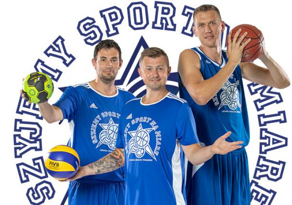 Ambasadorzy i trenerzy campów: od lewej Marcin Lijewski, Krzysztof Ignaczak, Cezary Trybański.